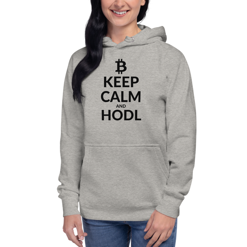Keep calm (Bitcoin)– Women's Pullover Hoodie