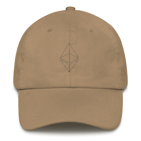 Ethereum line design - Baseball Cap