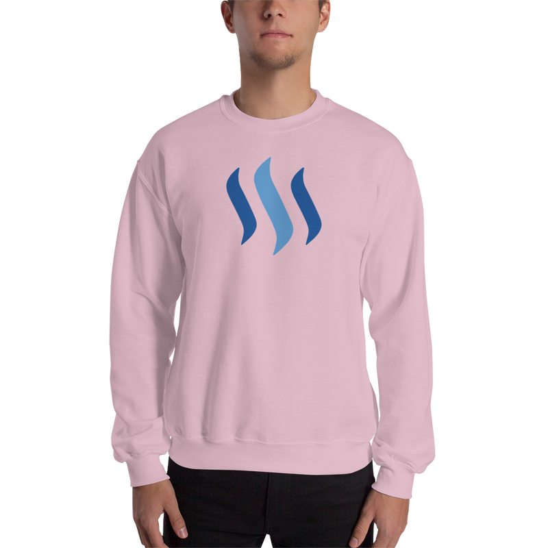 Steem – Men's Crewneck Sweatshirt