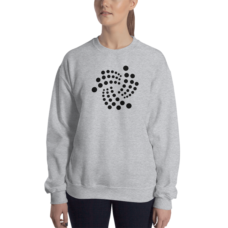 Iota floating – Women's Crewneck Sweatshirt