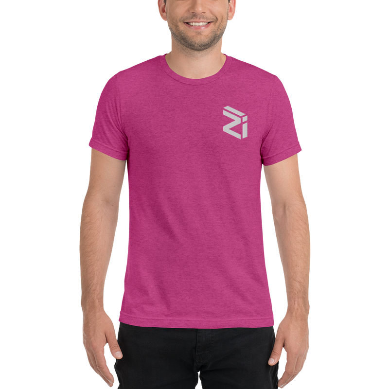 Zilliqa - Men's Embroidered Tri-Blend T-Shirt