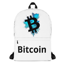Bitcoin color cloud - Backpack