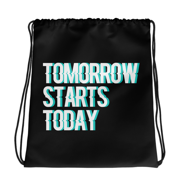 Tomorrow starts today (Zilliqa) - Drawstring Bag