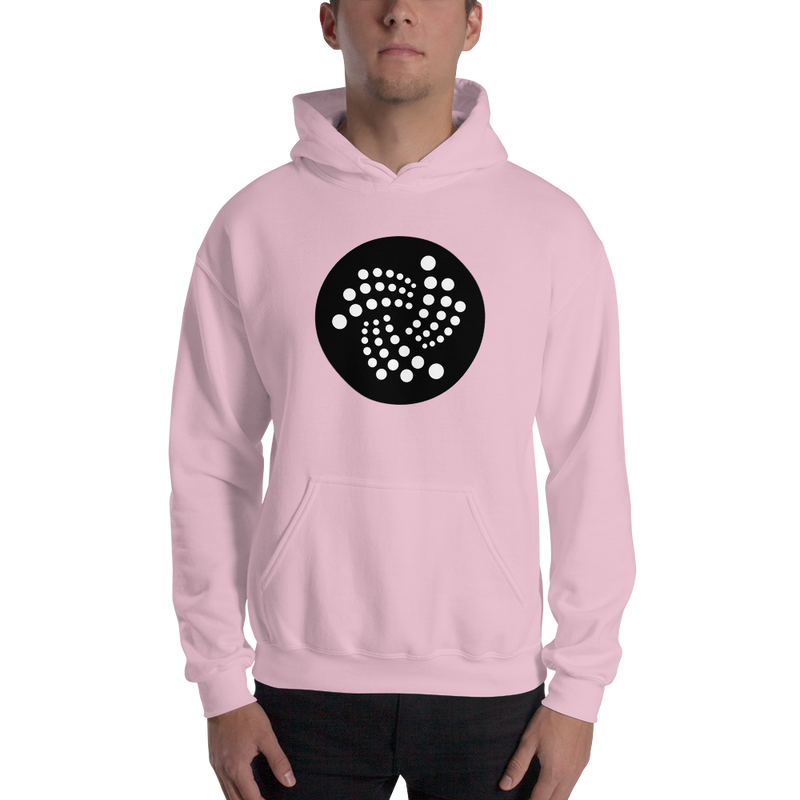 Iota floating design - Men's Hoodie
