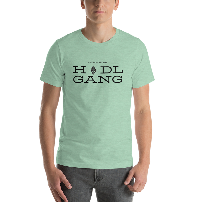 Hodl gang (Ethereum) - Men's Premium T-Shirt