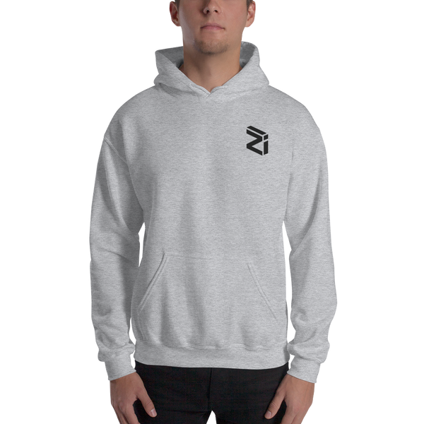 Zilliqa – Men's Embroidered Hoodie