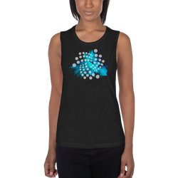Iota color cloud – Women's Sports Tank