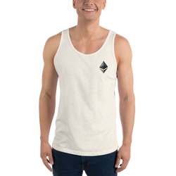 Ethereum logo - Men's Tank Top