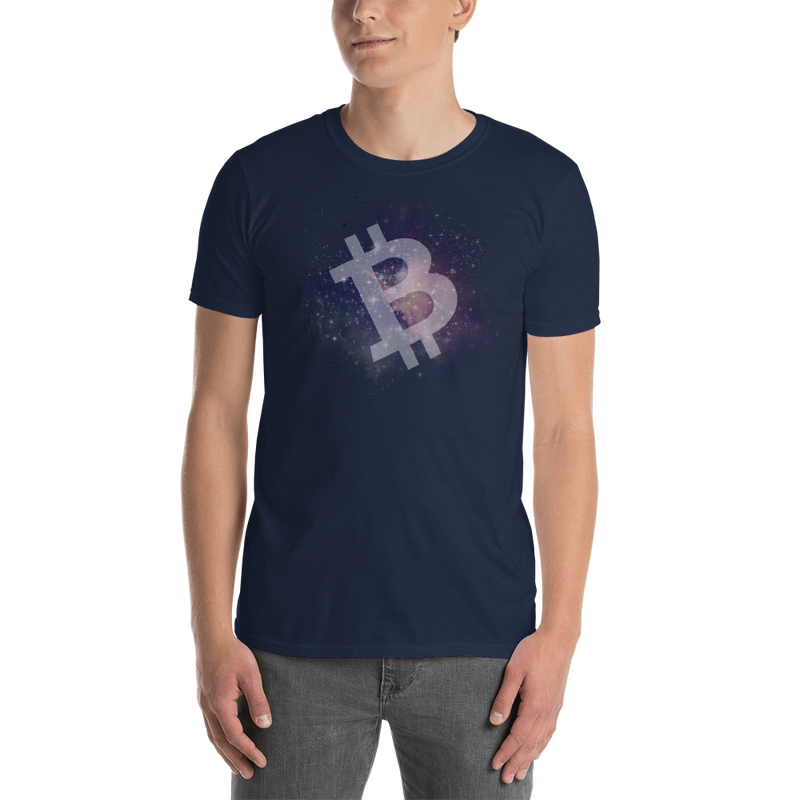 Bitcoin universe - Men's T-Shirt