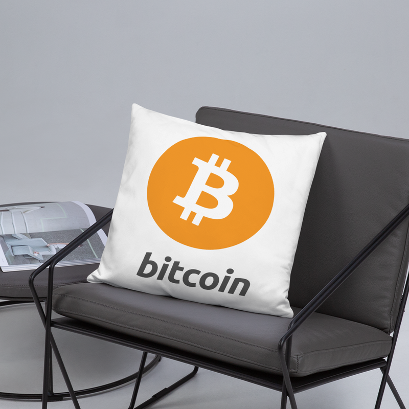 Bitcoin - Pillow