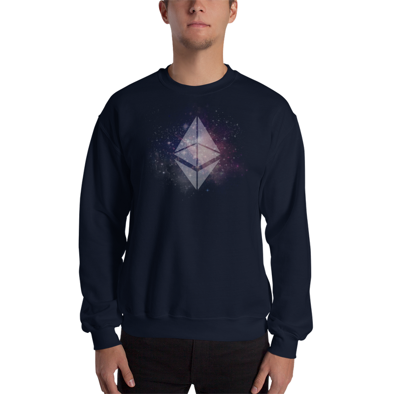 Ethereum universe - Men's Crewneck Sweatshirt