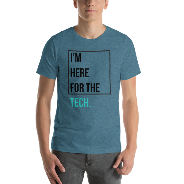 I'm here for the tech (Zilliqa) - Men's Premium T-Shirt
