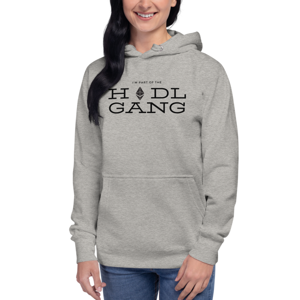 Hodl gang (Ethereum) – Women's Pullover Hoodie