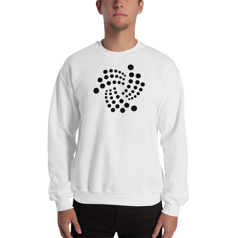 Iota floating design – Men's Crewneck Sweatshirt