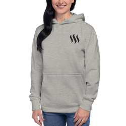 Steem – Women's Embroidered Pullover Hoodie