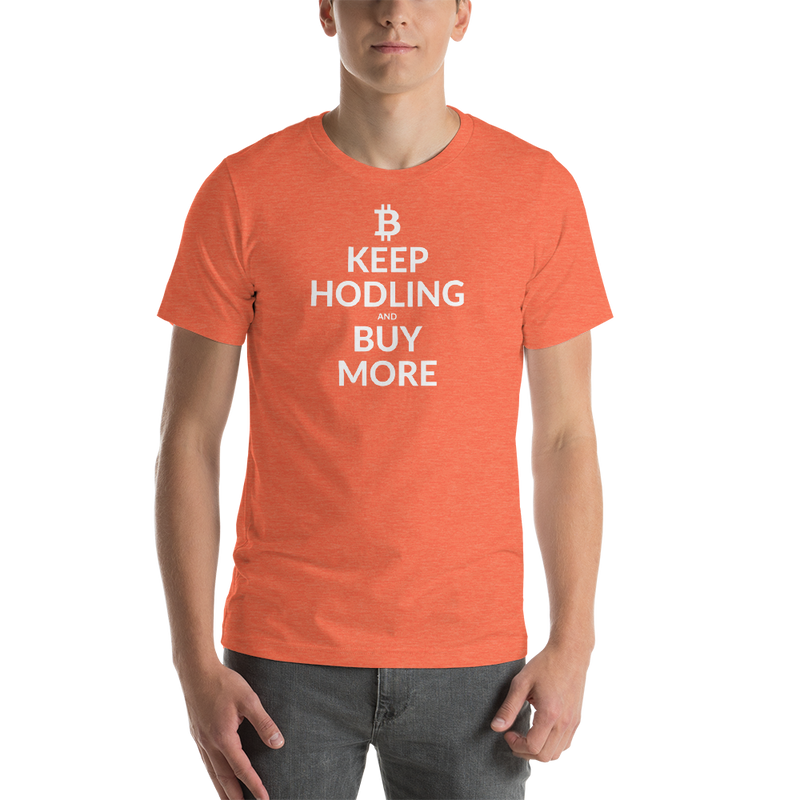 Keep hodling (Bitcoin) - Men's Premium T-Shirt
