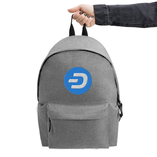 Dash Embroidered Backpack