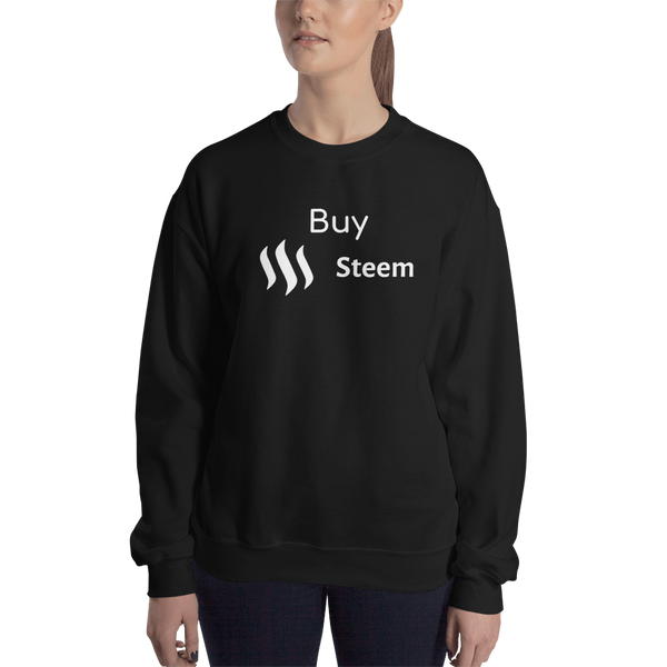 Buy Steem – Women's Crewneck Sweatshirt