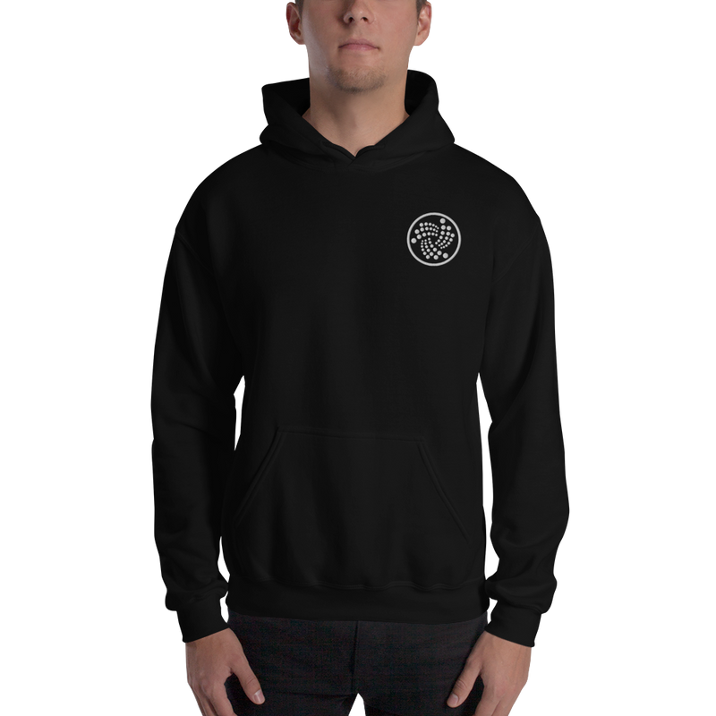 Iota logo – Men's Embroidered Hoodie