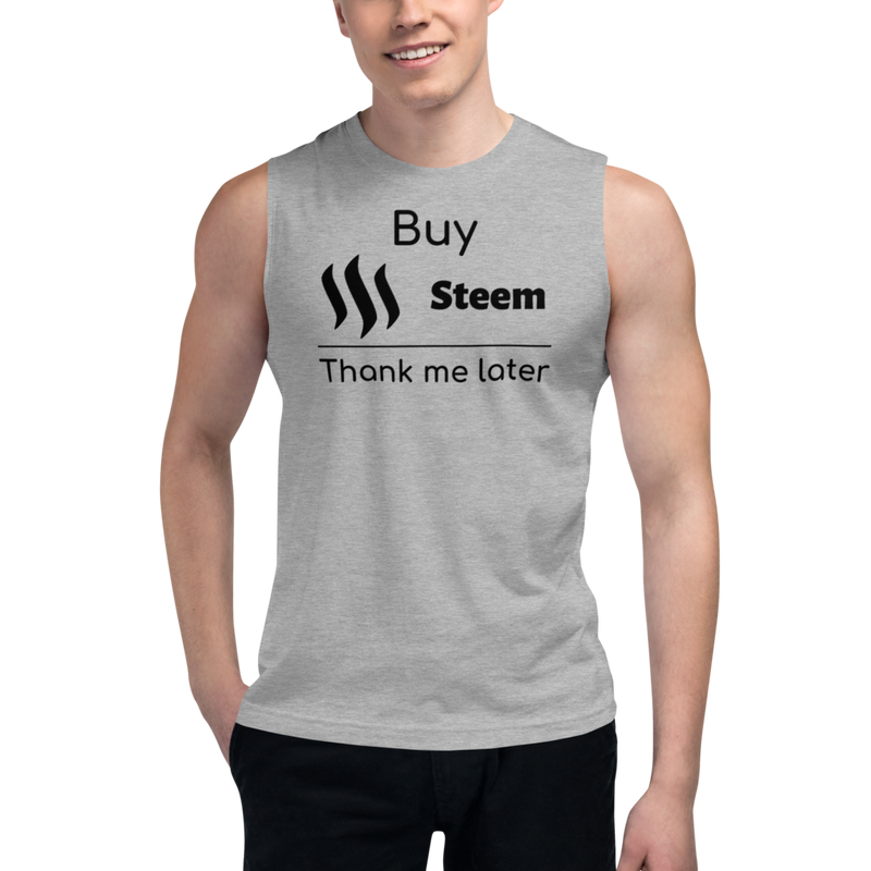 Buy Steem thank me later – Men's Muscle Shirt