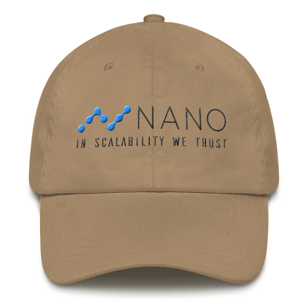 Nano, in scalability we trust - Baseball Cap