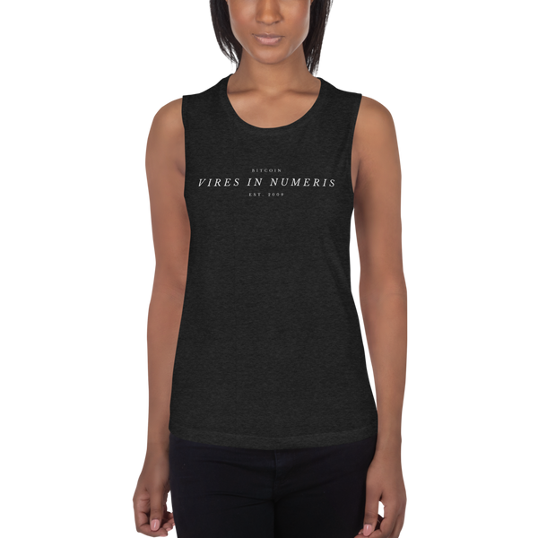 Vires in numeris (Bitcoin) – Women's Sports Tank