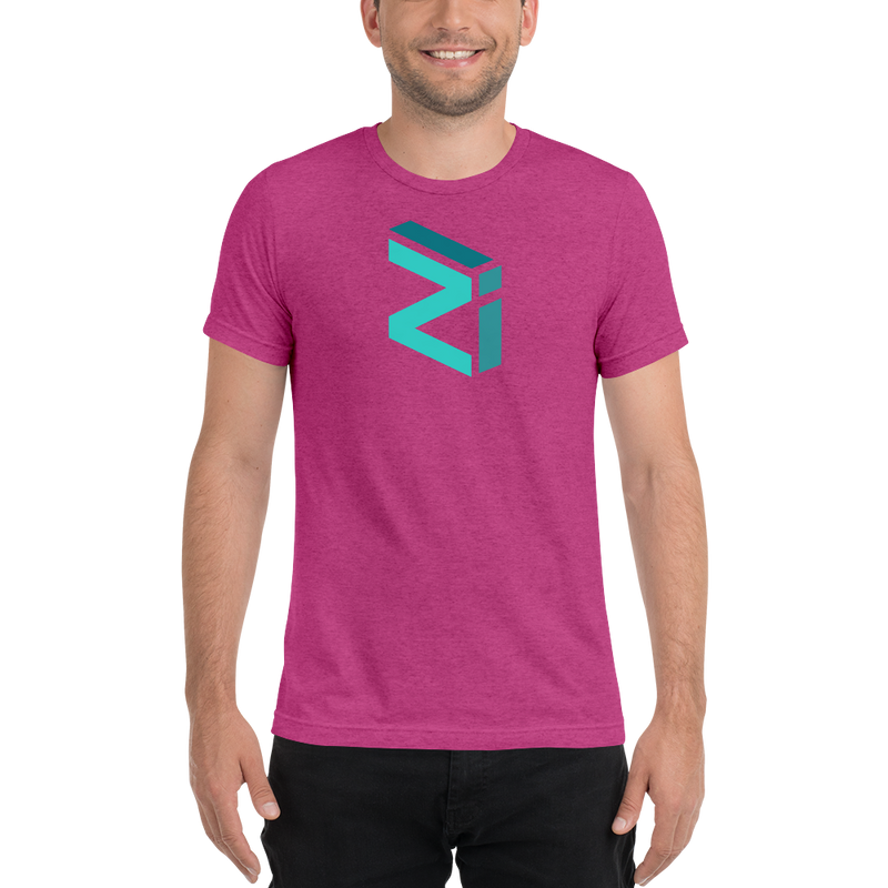 Zilliqa - Men's Tri-Blend T-Shirt