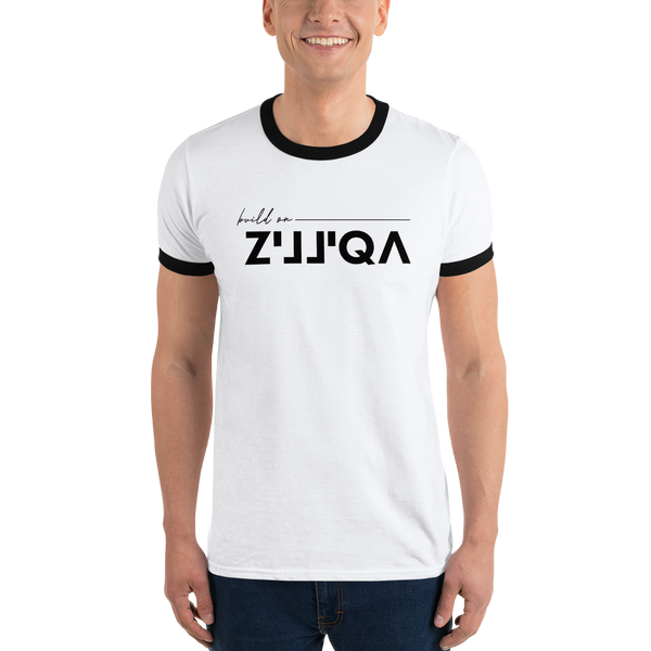 Build on Zilliqa - Men's Ringer T-Shirt