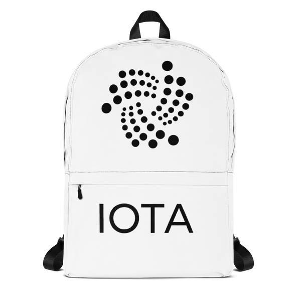 Iota floating design - Backpack