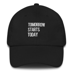 Tomorrow starts today (Zilliqa) - Baseball Cap