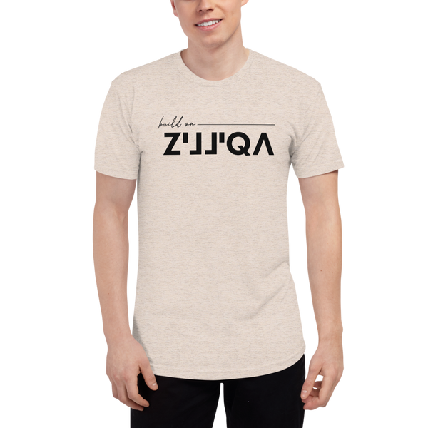 Build on Zilliqa – Men's Track Shirt