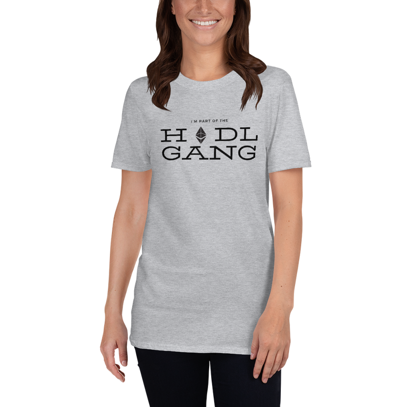 Hodl gang (Ethereum) - Women's T-Shirt