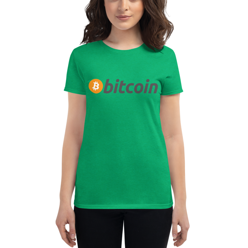 Bitcoin - Women's Short Sleeve T-Shirt