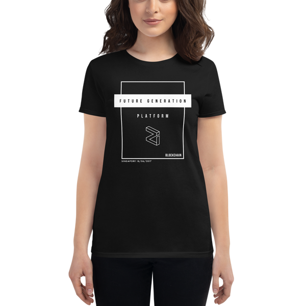 Future generation (Zilliqa) – Women's Short Sleeve T-Shirt