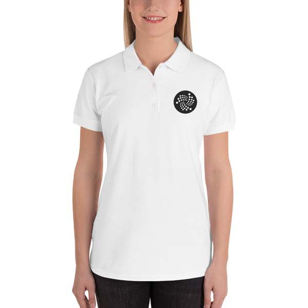 Iota logo - Embroidered Women's Polo Shirt