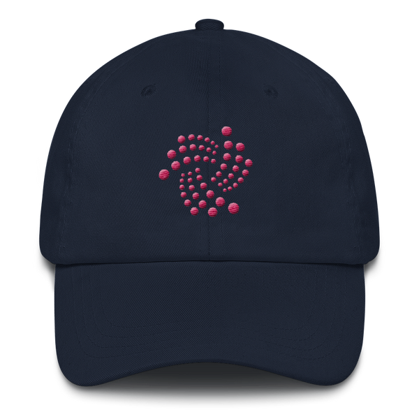 Iota floating design (Pink) - Baseball Cap