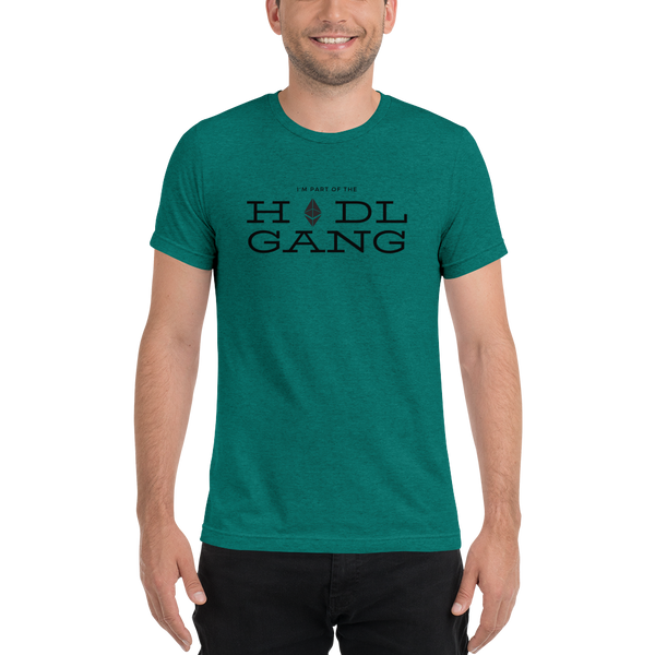 Hodl gang (Ethereum) - Men's Tri-Blend T-Shirt
