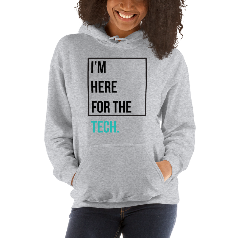 I'm here for the tech (Zilliqa) – Women's Hoodie