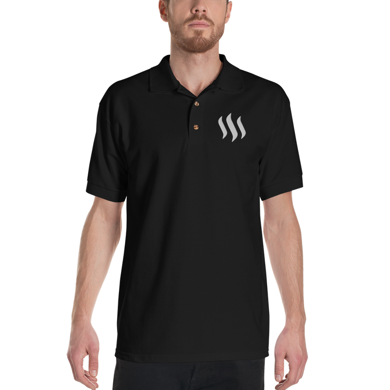 Steem - Men's Embroidered Polo Shirt