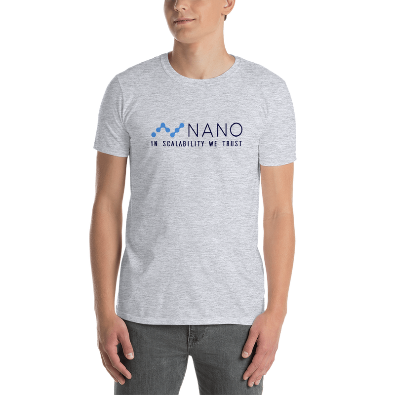 Nano, in scalability we trust - Men's T-Shirt