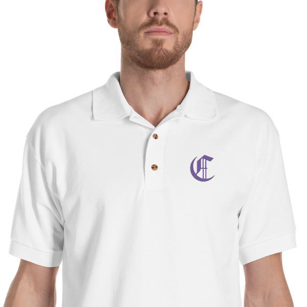 The Cryptonomist Embroidered Polo
