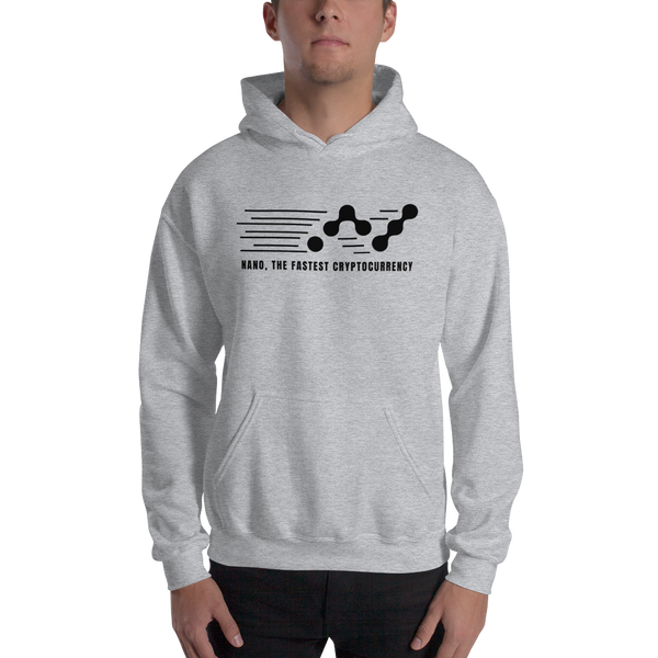 Nano, the fastest – Men's Hoodie