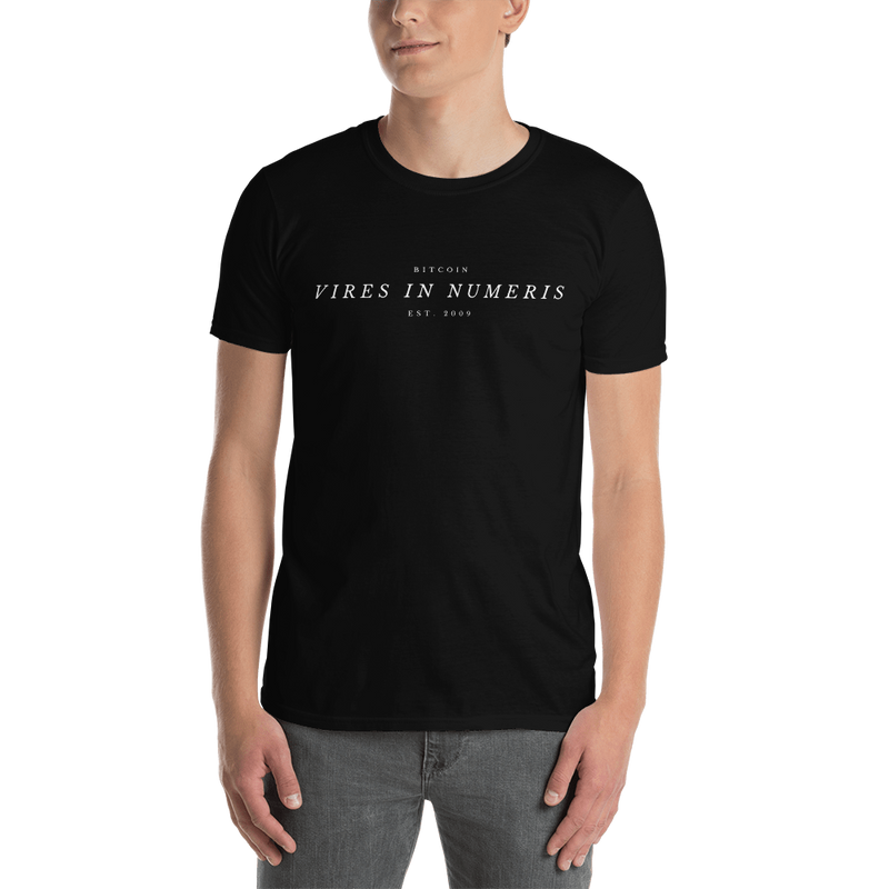 Vires in numeris (Bitcoin) - Men's T-Shirt