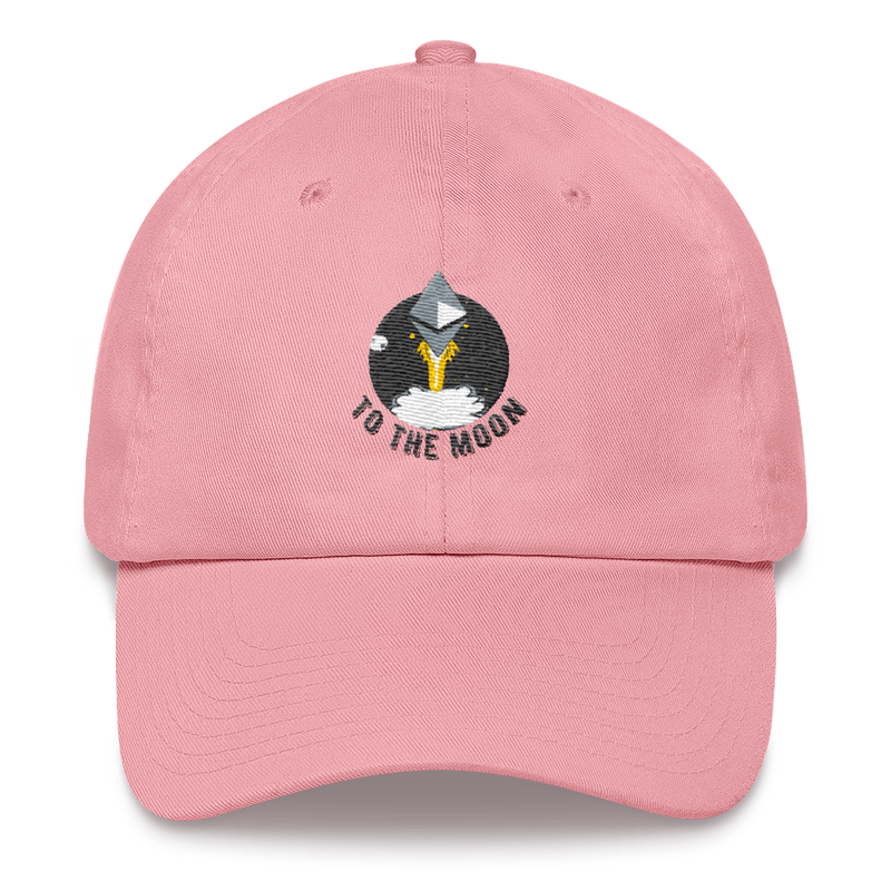 Ethereum to the moon - Baseball Cap