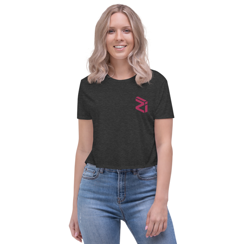 Zilliqa - Women's Embroidered Crop Tee