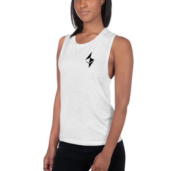 Ethereum surface design – Women's Sports Tank