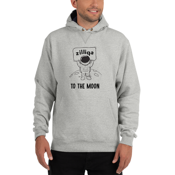 Zilliqa to the moon – Men's Premium Hoodie