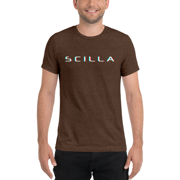 Scilla – Men's Tri-Blend T-Shirt