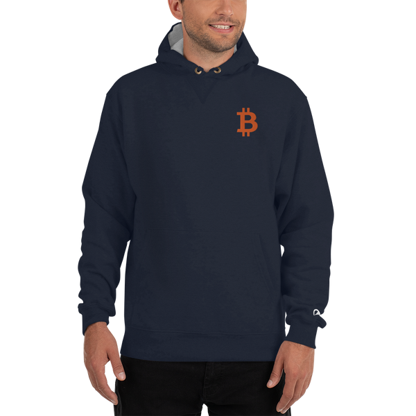 Bitcoin - Men's Embroidered Premium Hoodie