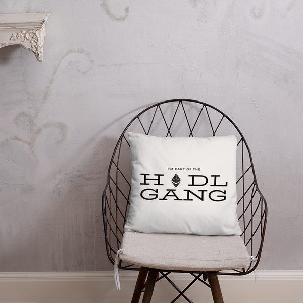 Hodl gang (Ethereum) - Pillow